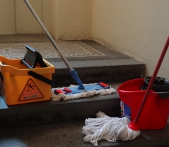 Úklid činžovního domu