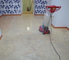 Strojové čištění lina