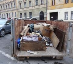 Vyklízení odpadu