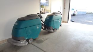 Strojové čištění garáží