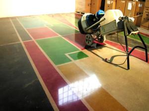 Obrázek - Betonová podlaha