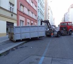 Odvoz odpadu foto