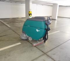 Čištění garáží