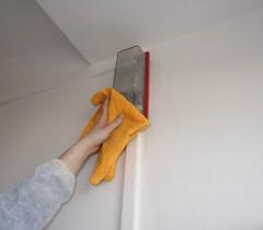 Mytí světel panelového domu