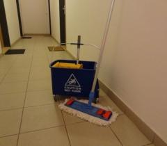 Pravidelný úklid v rezidenčním domě