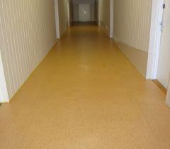 PVC po vyčištění a aplikaci PU ochranné vrstvy