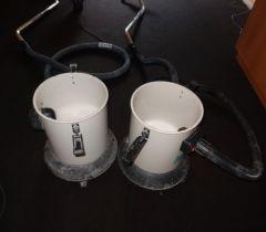 Odčerpávání zbytkové vody vysavače