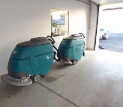 Strojové čištění garáží 2