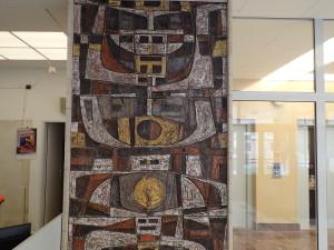 Keramická mozaika po vyčištění a impregnaci