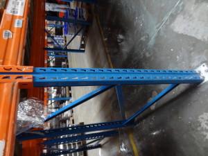Vyčištěná kovová konstrukce