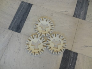 Mramor příprava broušení - diamantové segmenty