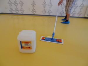 Průběh čištění