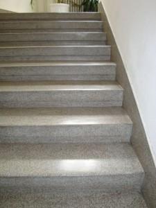 Teracové schody po vyčištění a nanesení nano vrstvy