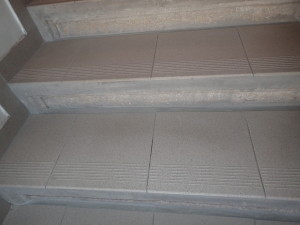 Keramická dlažba po vyčištění