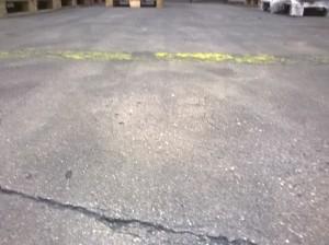 Podlaha před čištěním