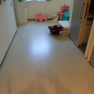 Povrch PVC před čištěním